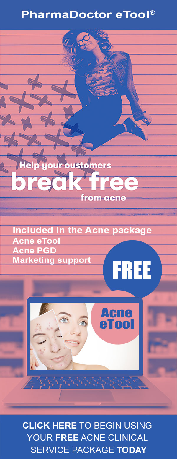 Free acne eTool service package